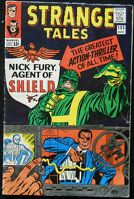 Strange Tales 1965 #135 To 168 1965 Comp Fury Agent Of Shield 1St App.dr.strange