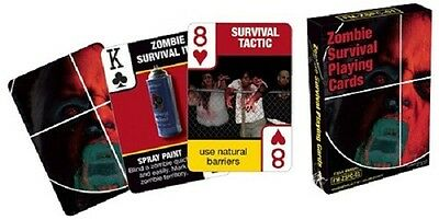 ZOMBIE SURVIVAL Photo Illustrated Playing Cards NEW