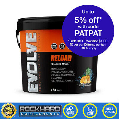 Anabolic Injection 4kg Red Frog Post Workout Fuel By Evolve Nutrition Anabolic