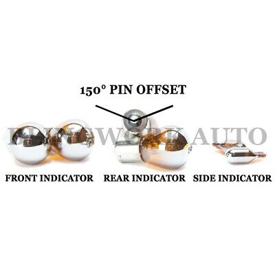 Holden Vt Vx Vy Vz Ve Commodore Bau15S Chrome Indicator Amber Light Bulb Package