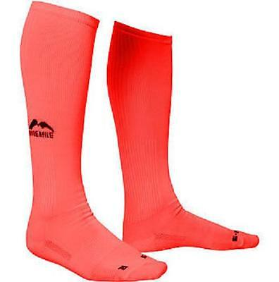 More Mile California Compression Running Sock - Pink  *NEW*