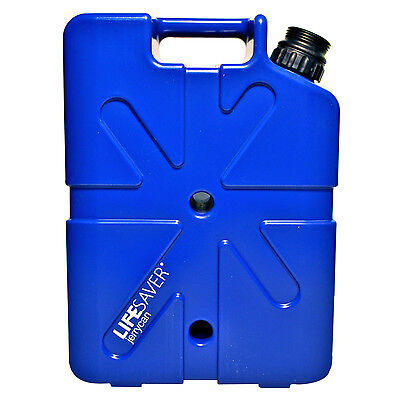 Lifesaver JerryCan 20,000 Liter Capacity Water Filtering Can (Dark Blue),in USA!
