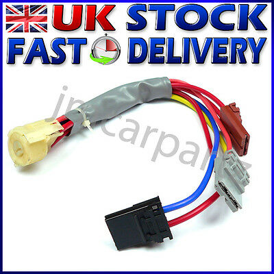 Ignition Switch Cables Wires PEUGEOT 406 1995-1999 Lock Barrel Plug BRAND NEW !