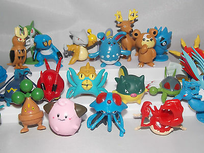 5 Assorted Pokémon Anime Figures 3-5cm CHN
