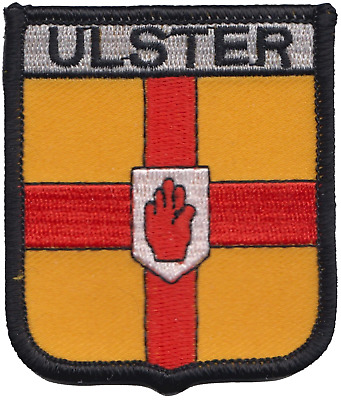 Ulster Ireland Flag Embroidered Patch Badge