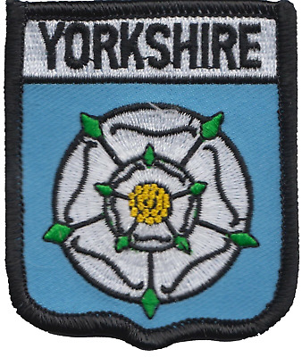 Yorkshire County Flag Embroidered Patch Badge