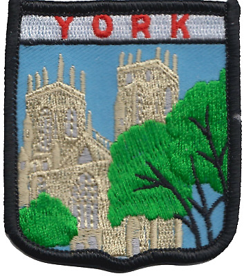 York Minster Cathedral Yorkshire County Flag Embroidered Patch Badge