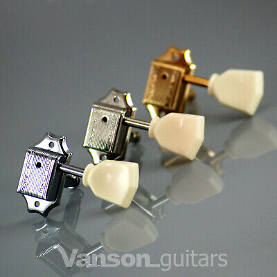 6 x Wilkinson WJ44 EZ-LOK Vintage Tuners, Machine heads for Les Paul SG ES (IV)