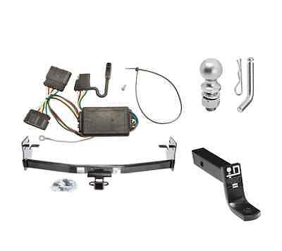 """Class 3 Trailer Hitch Receiver Tow Kit w/ 2"""" Ball & Wiring for GMC Canyon"""