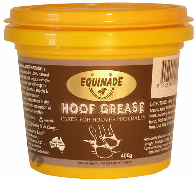 New Equinade Hoof Grease All Natural Nourishing Dressing for horses+ponies 400g