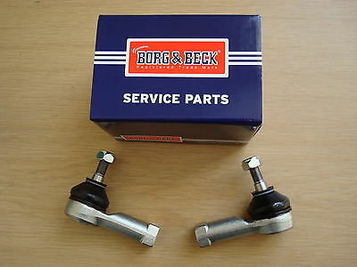 TRACK TIE ROD END PAIR for VAUXHALL MERIVA - from 2003 to 2010   -  BORG & BECK