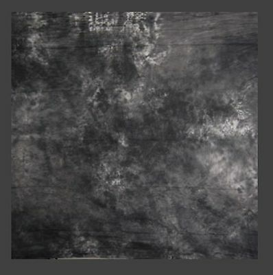 10 x 20 ft  Hand painted 10ft X 20ft Tie Dye Gray Muslin Photo Backdrop