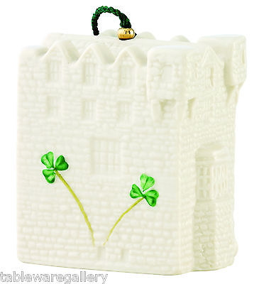 Belleek Donegal Castle Bell Ornament