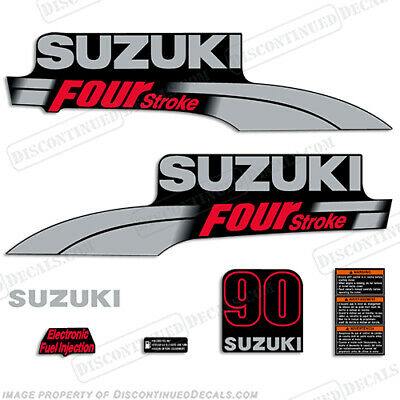 Suzuki 300 hp FourStroke Outboard Decal Kit Replacement Decals REMIX