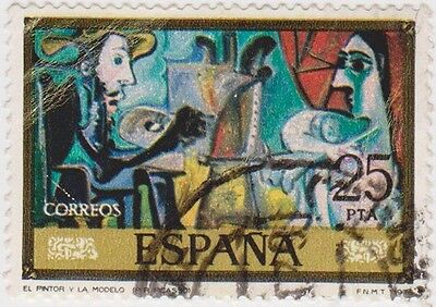 (SPA28) 1978 Spain 25p the painter & the model ow2536