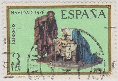 (SPA7) 1976 Spain 3p Christ multicolour ow2428