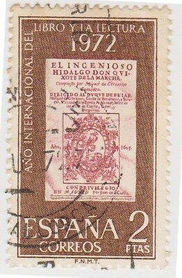 (SPB139) 1972 SPAIN 2p red & brown 1972 ow2134