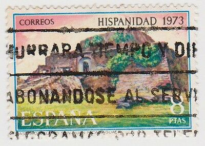 (SPB152) 1973 SPAIN 8p multicolour heavy council ow2215
