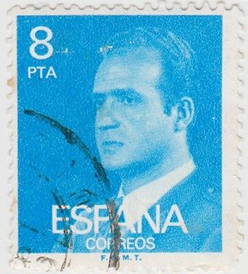 (SPB191) 1976 SPAIN 8p bluek king Carlos ow2401