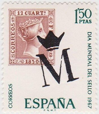 (SPB37)1967SPAIN 2set 40c &1p.50 first stampsow1850