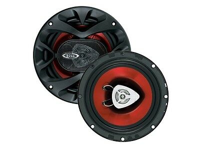 """New BOSS CH6520 CHAOS EXXTREME 250W 6-1/2"""" 6.5"""" 2-Way Car Audio Speakers (Pair)"""