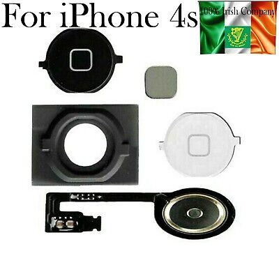 4S Home Button Rubber Grommet Flex Replacement For Iphone Metal Spacer #choose
