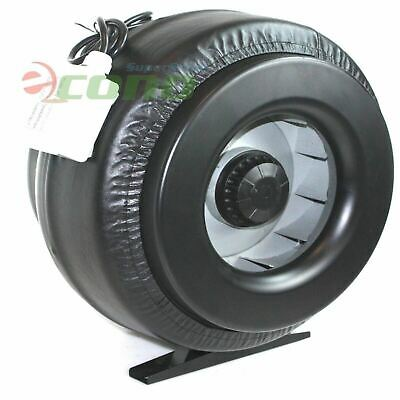 """12"""" Inch Inline Duct Fan Vent Exhaust Air Cooled Hydroponic Fan Blower 1200CFM"""