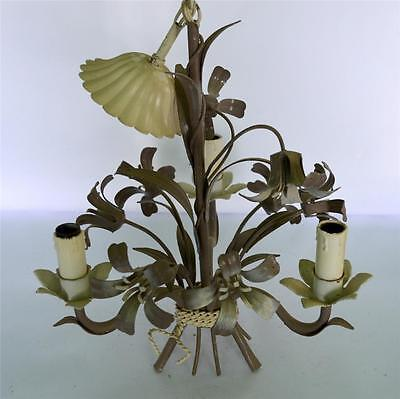 Splendid French Tole Chandelier