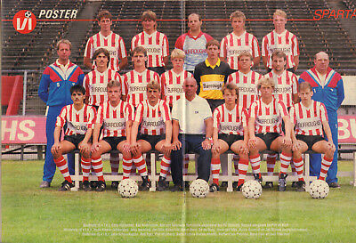 V.I. 1986 nr. 40  - ROB DE WIT / PSV / SPARTA (POSTER) /KEES RIJVERS/FOEKE BOOIJ