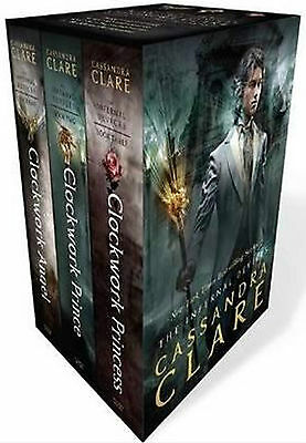 Cassandra Clare Infernal Devices Collection 3 Books Set Clockwork Princess Angel