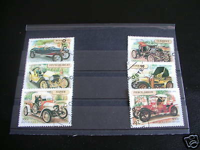 ******* Timbres Voitures : Serie Complete Du Benin 1998 / Stamps Cars *******