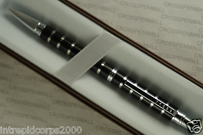 Cross  Classic Black and Silver Stripes with Polished Appointments BallPoint Pen