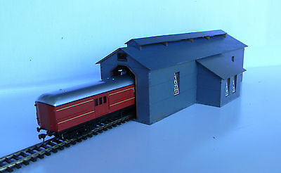 N scale building Loco shed from Victoria