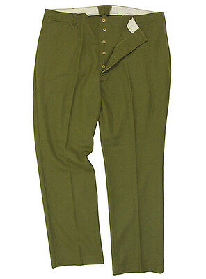 US Army M37 Wool Trousers - HEAVY ISSUE - All Sizes WW2 Repro American Pants