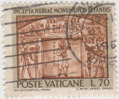(VA89) 1964 VATICAN L70 brown & light brown ow425