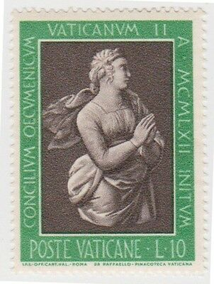 (VA75) 1962 VATICAN L10 faith after Raphael ow390