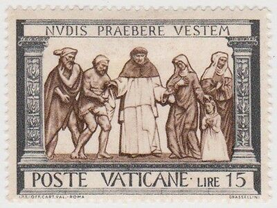 (VA67) 1960 VATICAN L15 feeding the hungry ow328