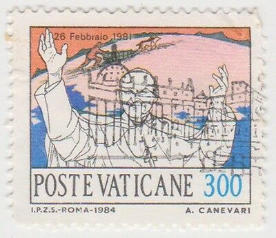 (VA207) 1985 VATICAN 300L pope in Tokyo cathedral ow817