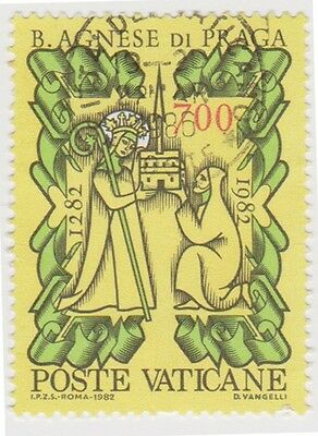 (VA202) 1982 VATICAN 700L Agnes & Church ow779