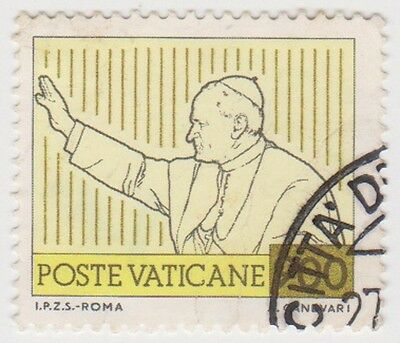 (VA197) 1981 VATICAN 900L pope giving blessings ow778