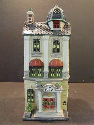 """Dept 56 Christmas In The City """"ritz Hotel"""" - Later Version - #59730 - New"""