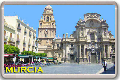 Murcia Spain Fridge Magnet Souvenir Iman Nevera