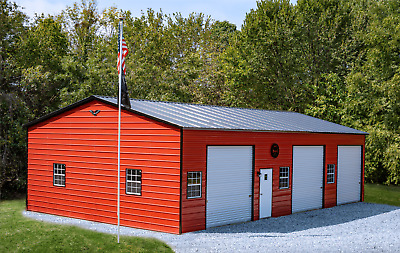 24x50 STEEL Garage, Storage Building, Carport   FREE DEL. & INSTALLATION!