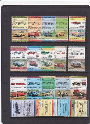 VINTAGE CARS Leaders Of The World SPECIMEN Selection MNH