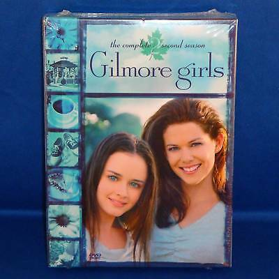 Gilmore Girls - Complete Second Season - Two - 2 - DVD - NEW & Sealed