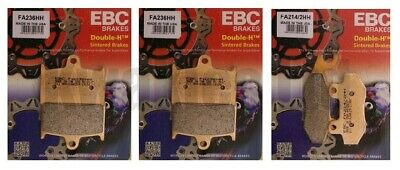Triumph Tiger Explorer 1200 2012-2013 Set of EBC HH Front and Rear Brake Pads