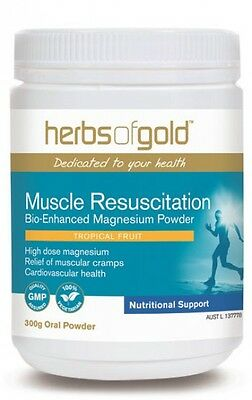 Herbs Of Gold  - Muscle Resuscitation - High Dose Magnesium For Cramps