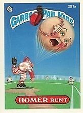 Garbage Pail Kids GPK Original Series 7 #291a Homer Runt Non-MINT