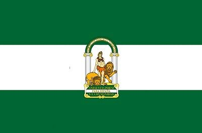 ANDALUSIA ANDALUCIA SPAIN SPANISH 5 X 3 FEET FLAG polyester fabric Seville flags