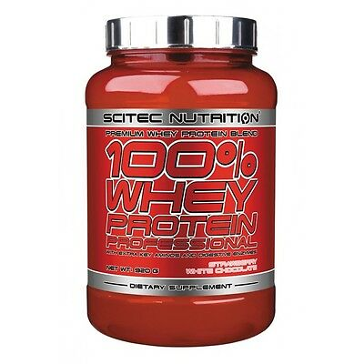 Scitec 100% Whey Professional 920g Proteine Bodybuilding Musculation BCAA